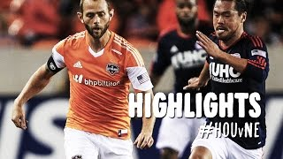 HIGHLIGHTS: Houston Dynamo vs. New England Revolution | October 16, 2014