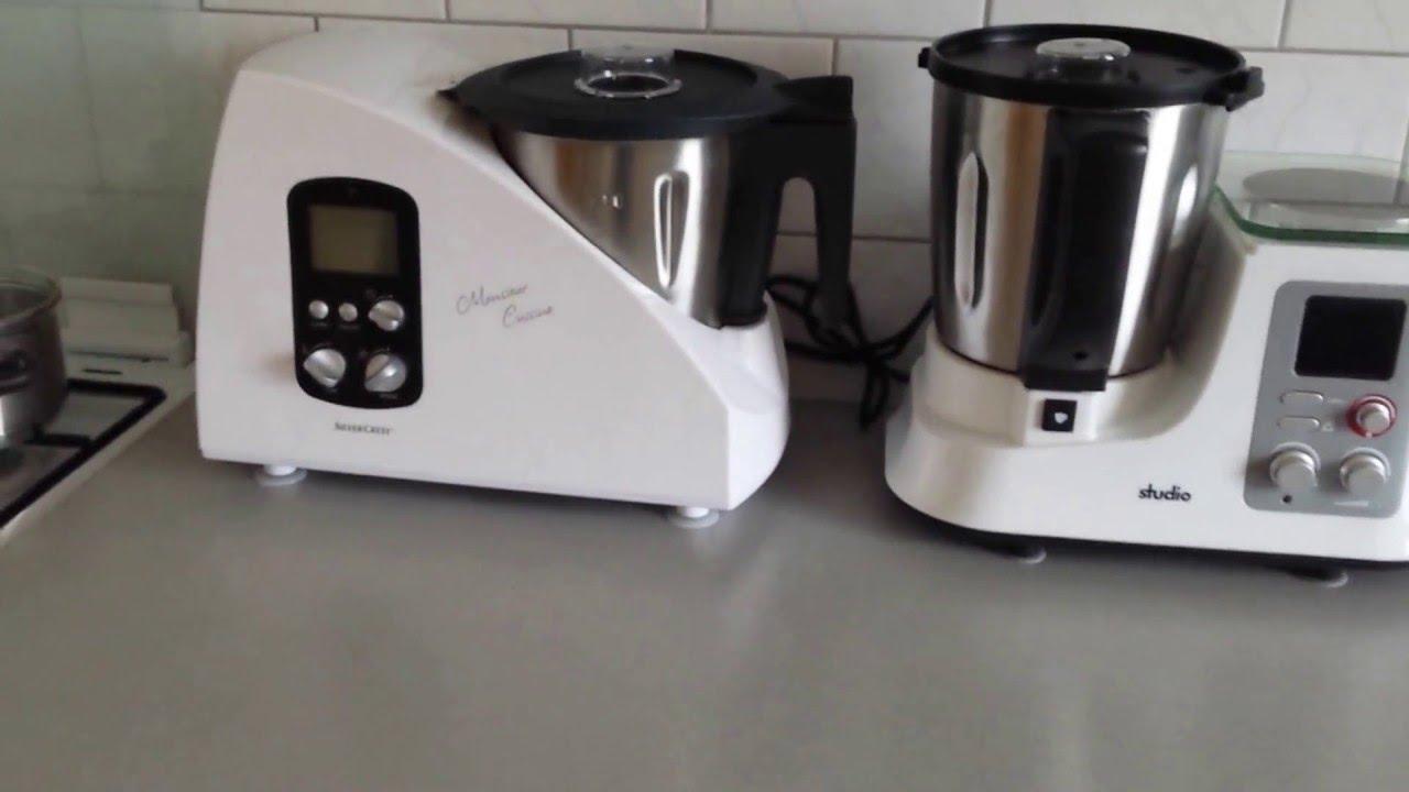 aussehen der küchenmaschinen monsieur cuisine (lidl) und studio ... - Aldi Studio Küchenmaschine