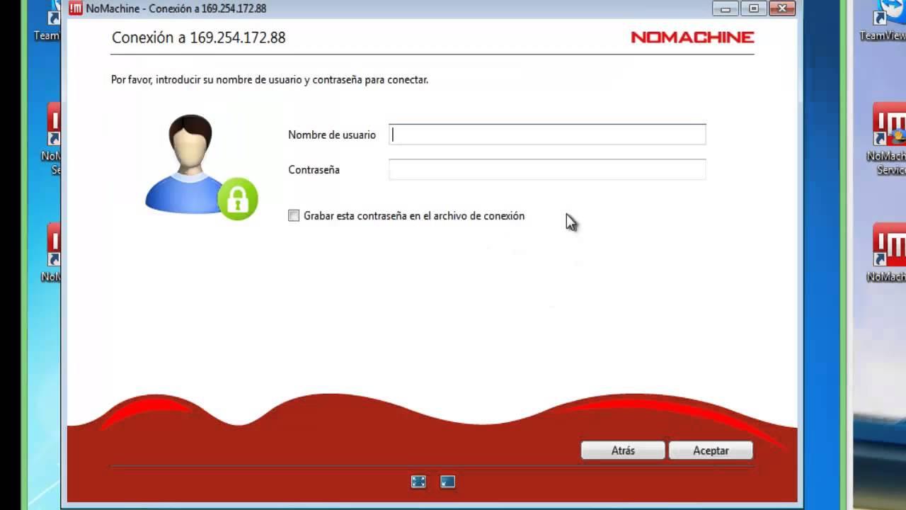 NoMachine entre Windows 7