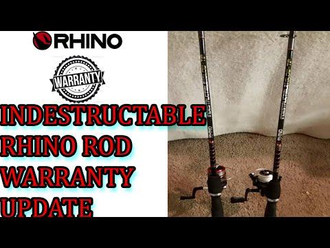 Indestructible Zebco Rhino Fishing Rod ''warranty Update''