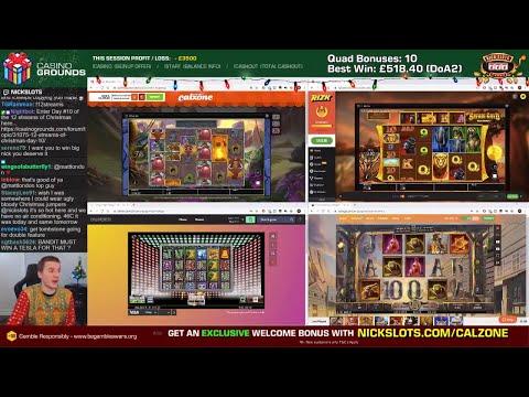 Casino Slots Live - 19/12/19 *QUADS!!*