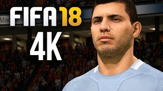 FIFA 18 DEMO 4K Gameplay - MANCHESTER DERBY - MY FIRST GAME