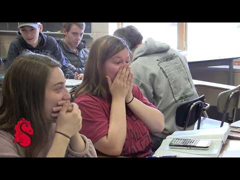 """Dwayne """"The Rock"""" Johnson surprises SAHS student"""