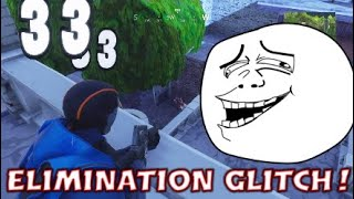 ELIMINATION GLITCH! -Fortnite Battle Royale- Replay Fail