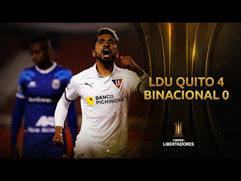 LDU Quito Binacional Goals And Highlights