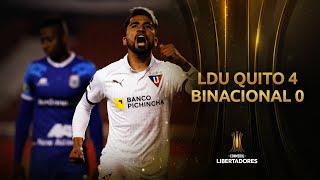 LDU Quito vs. Binacional [4-0] | RESUMEN | Fase de Grupos | Jornada 5 | Libertadores 2020