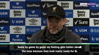 Klopp puts blame partly on weather after 0-0 Merseyside derby draw