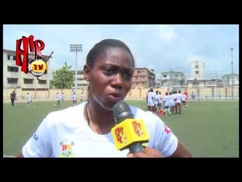 ASISAT OSHOALA EMPOWERS GIRLS IN LAGOS WITH FOOTBALL CLINIC (Nigerian Entertainment News)