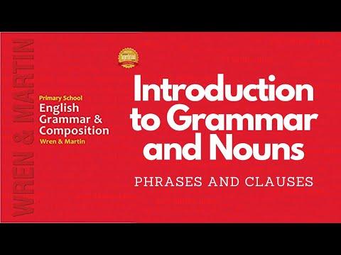 (Hindi) Wren & Martin English Grammar: Phrase and Clause