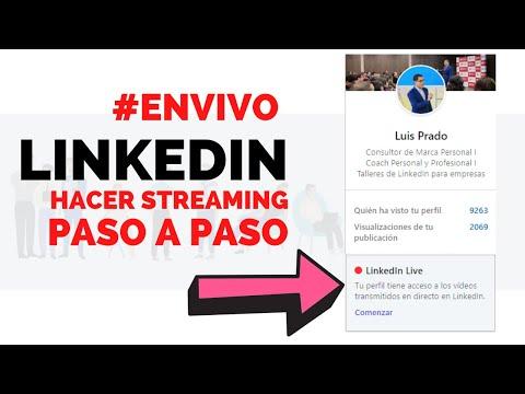 Cómo Hacer streaming en LINKEDIN LIVE con StreamYard (Emitir en Directo)