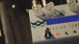 GFI System - Specular Tempus Reverb-Delay Effects Pedal