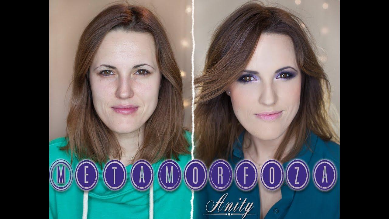 Przydymiony Fioletowy Makijaż Dla Opadającej Powieki Youtube