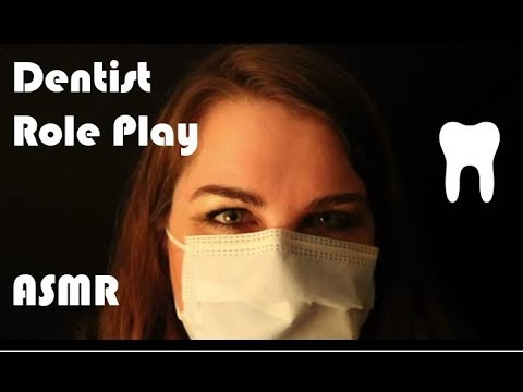 Teeth Cleaning (soft spoken dentist role play)