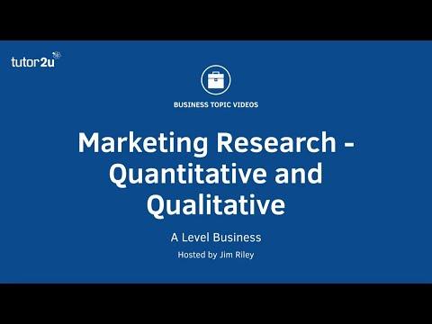 Quantitative And Qualitative Marketing Research