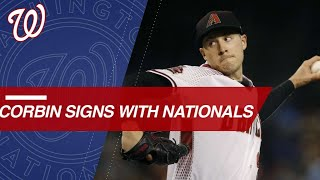Corbin joins Nationals after signing 6-year deal