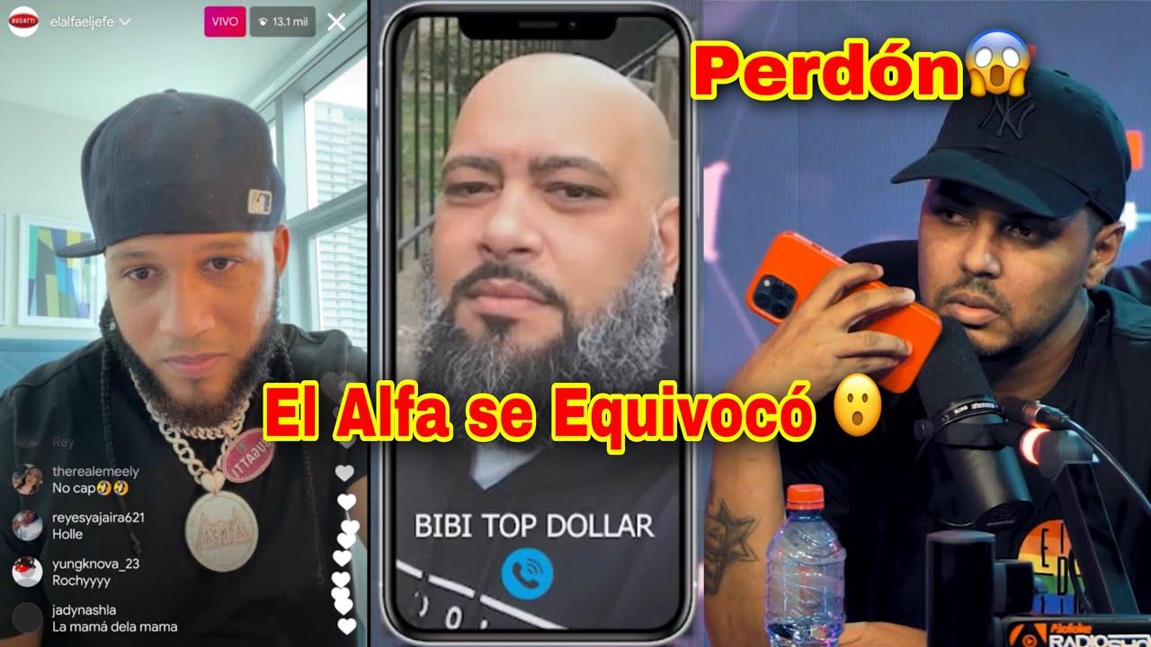 UN LIO FEO! EL ALFA SE EQUIVOCO CON BIBI TOP DOLLAR & ALOFOKE LE PIDE PERD0N