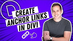 How to Create Anchor Links in Divi