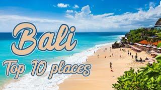 Places to visit in Bali || Nusa dua beach || Kuta beach