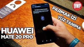 Gambar cover Huawei Mate 20 Pro'nun parmak izi ve yüz tanıma teknolojileri nasıl çalışıyor?