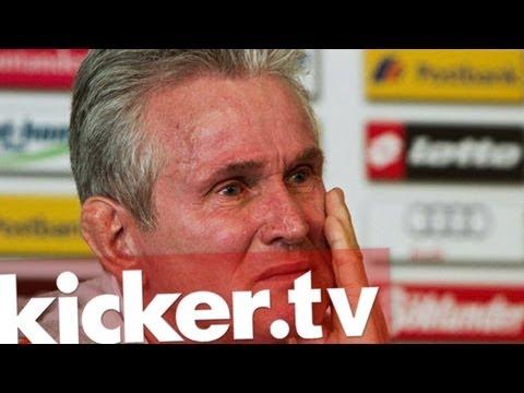 Tränen in Mönchengladbach - Heynckes weint zum Abschied .. . kicker.tv