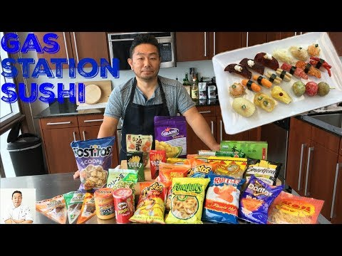 Junk Food Omakase | Gas Station Sushi | Will It Sushi?