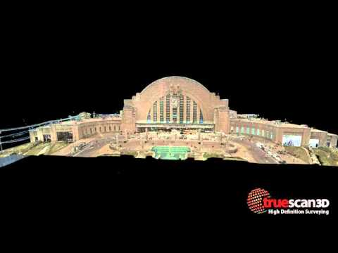 Cincinnati Museum Center Union Terminal 3D Laser Scan 1st press release