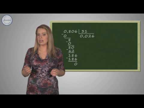 Как делить десятичные дроби на натуральное число