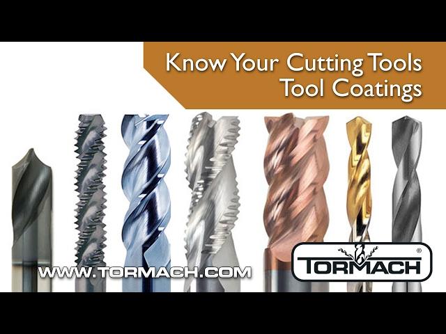 Tormach Explains Tool Coatings