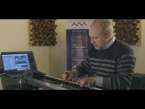 Neova MIDI ring controller prototype + SWAM first test