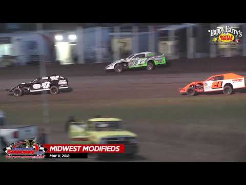 Happy Harry's Midwest Mods - River Cities Speedway - May 11, 2018