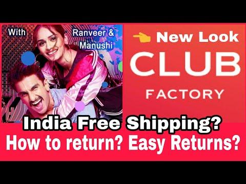 क्लब फैक्ट्री पर return कैसे करे - My Experience | Club Factory Free Shipping | Discount Code |