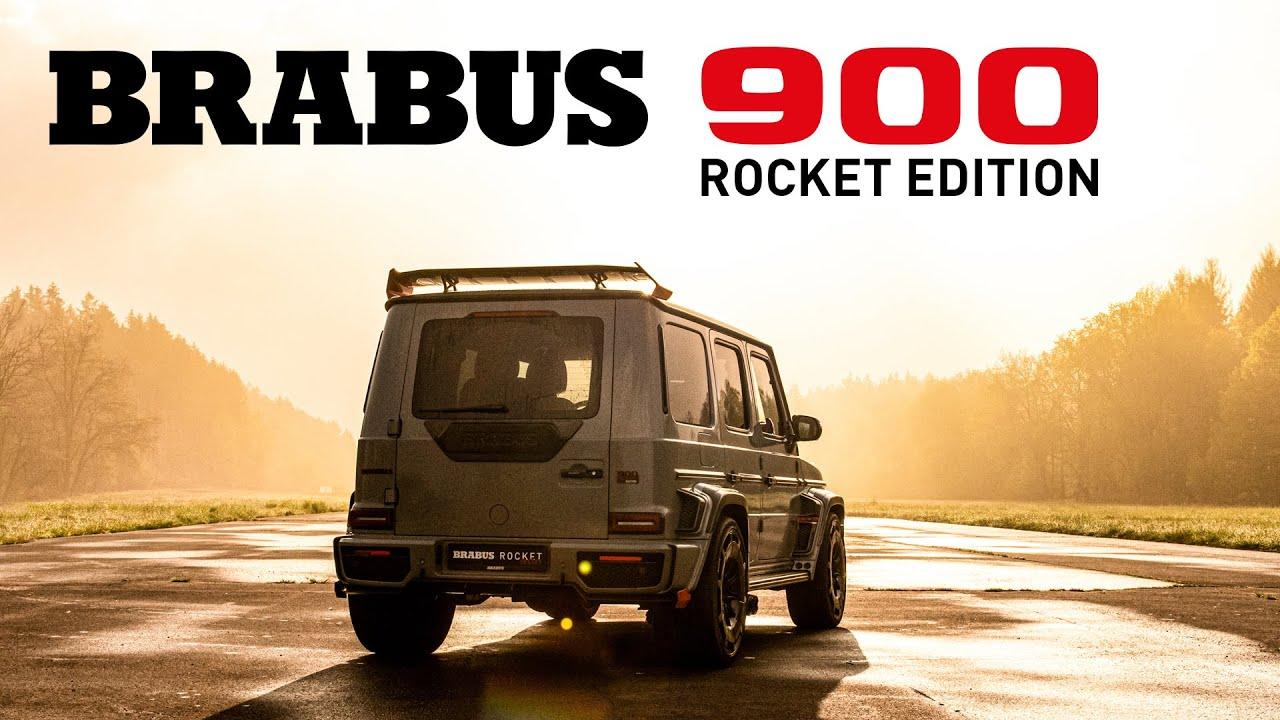 BRABUS 900 Rocket Edition REDEFINED!