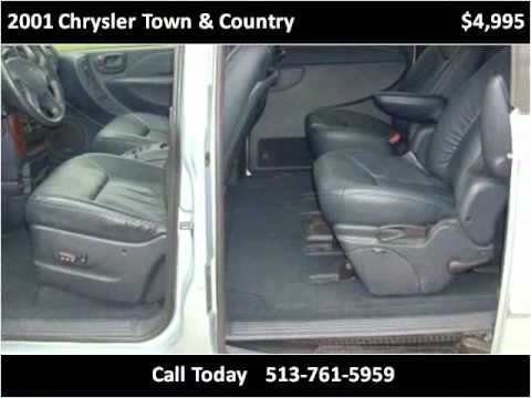 2001 Chrysler Town & Country Used Cars Cincinnati OH