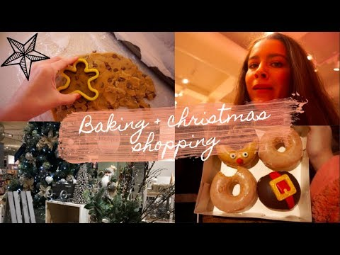 Download CHRISTMAS BAKING + PRESENT SHOPPING 🎄 // Vlogmas 2