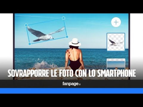 Sovrapporre le foto in iPhone e Android