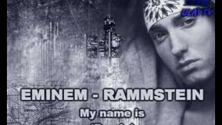 eminem rammstein my name is remix