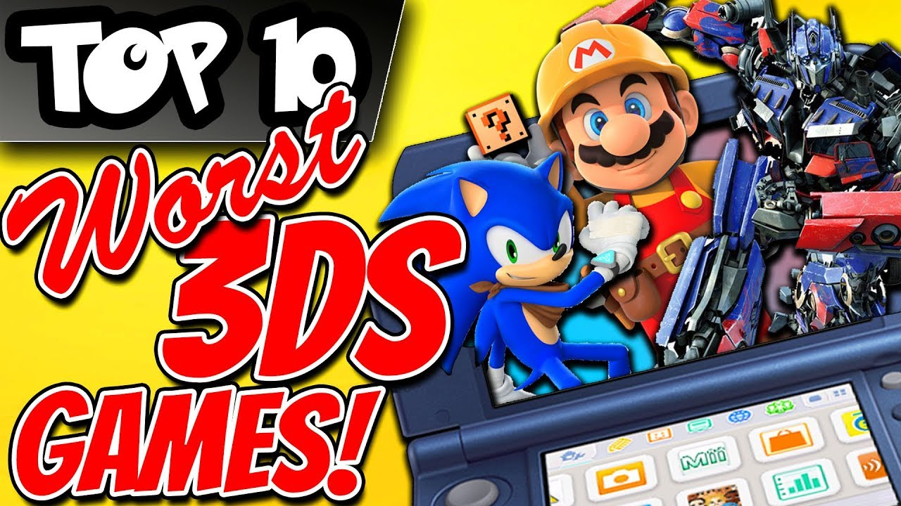 Top 10 Worst 3ds Games Youtube