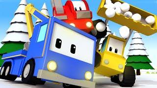 Kleinen Trucks   Nordpol - Lerne mit den kleinen Trucks 👶 🚚 Lehrreiche Cartoons für Kinder