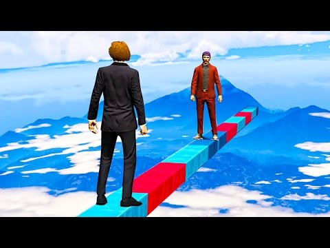 Thumbnail: 1 vs. 1 FIGHT 1000 MILES IN THE SKY! (GTA 5 Funny Moments)
