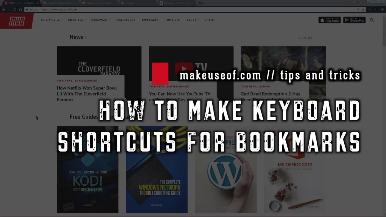 How to Launch Your Chrome Bookmarks With Keyboard Shortcuts