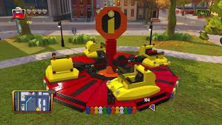 Lego The Incredibles - Residential ALL COLLECTIBLES 100% RED BRICK Fast Interact Walkthrough Guide