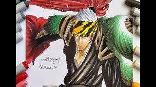 Drawing Renji Abarai Bankai - Bleach Brave Souls
