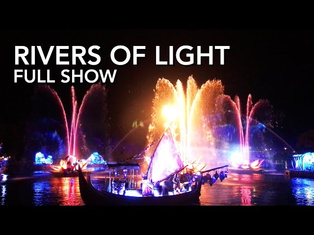 Rivers of Light - Animal Kingdom - Full Show [4K]