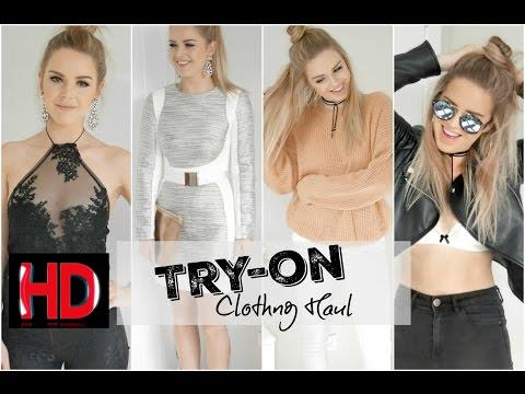 [makeup2017]-try-on-autumn-clothing-haul-♡-casual-&-formal-♡