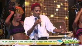 ERIC OMONDI-Niko na Safaricom Live Kisumu 2013