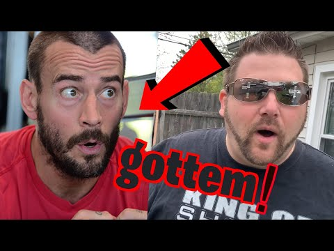 We Swerved CM PUNK Into Making a Fool of Himself!