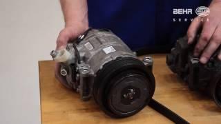 De aircocompressor maakt geluid, wat nu?