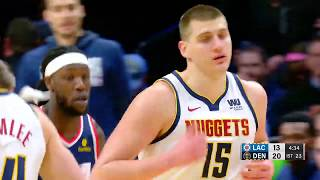 LA Clippers vs Denver Nuggets : February 24, 2019