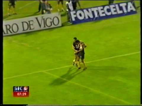 Celta Vigo - 0 x Sporting - 1 de 2002/2003 em 07/08/2002