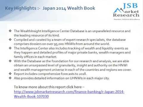 Japan 2014 Wealth Book